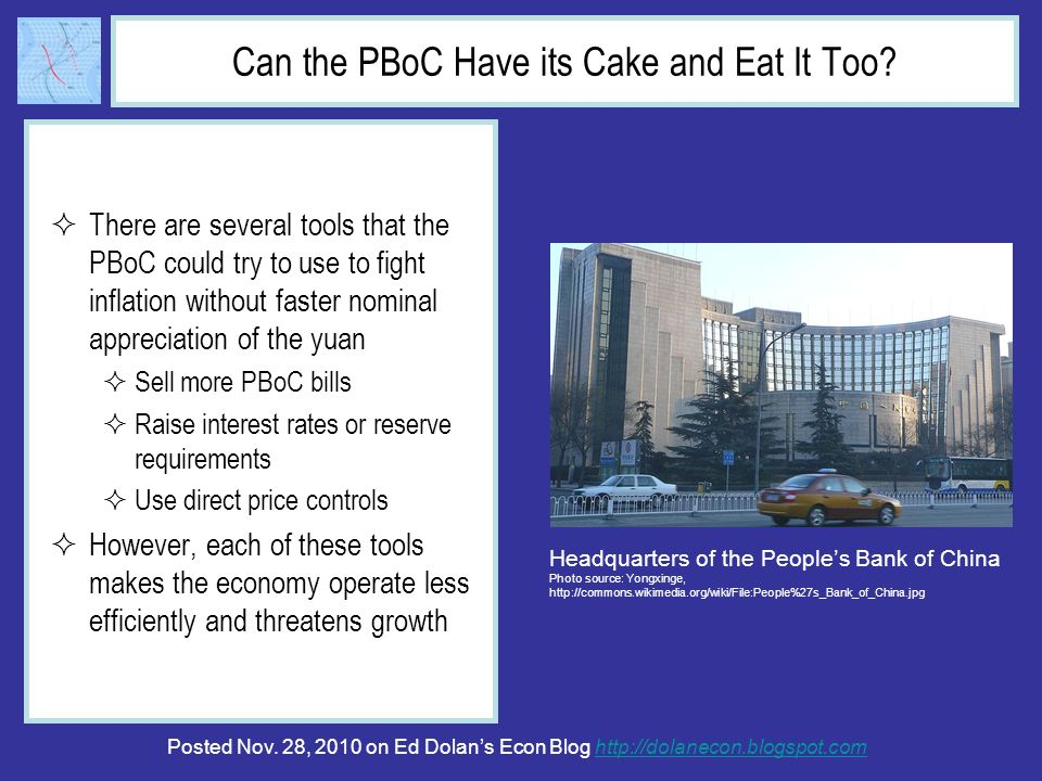 Can the PBoC Have its Cake and Eat It Too.