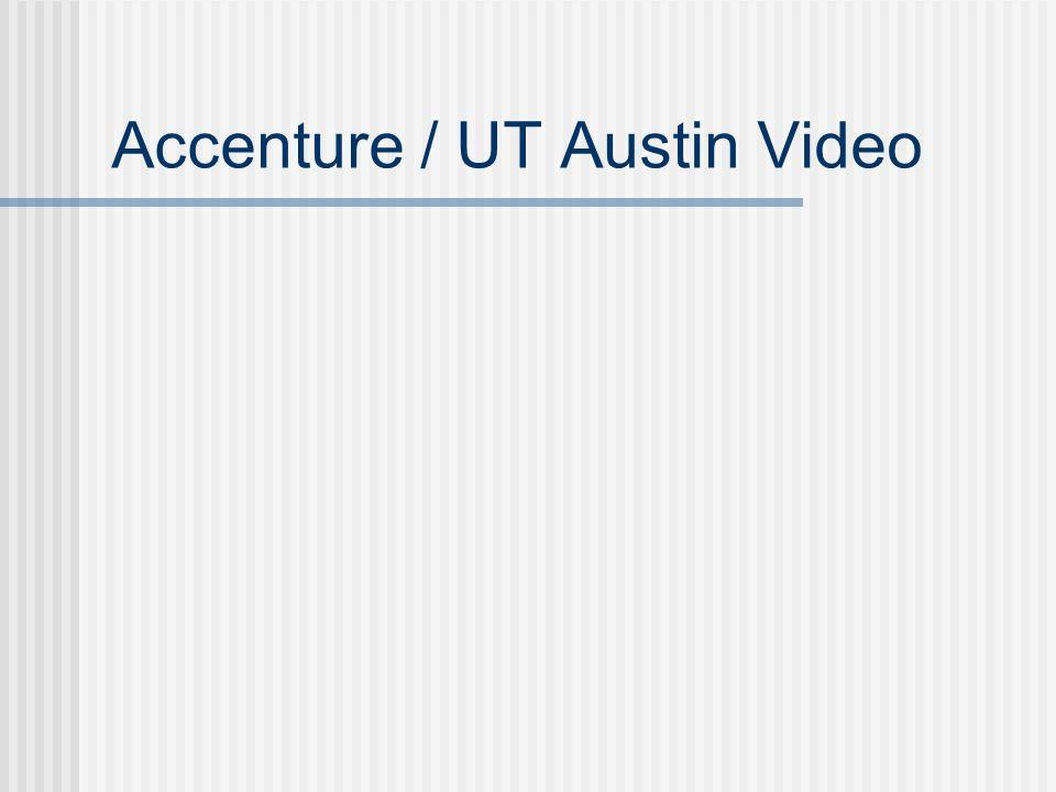 Accenture / UT Austin Video