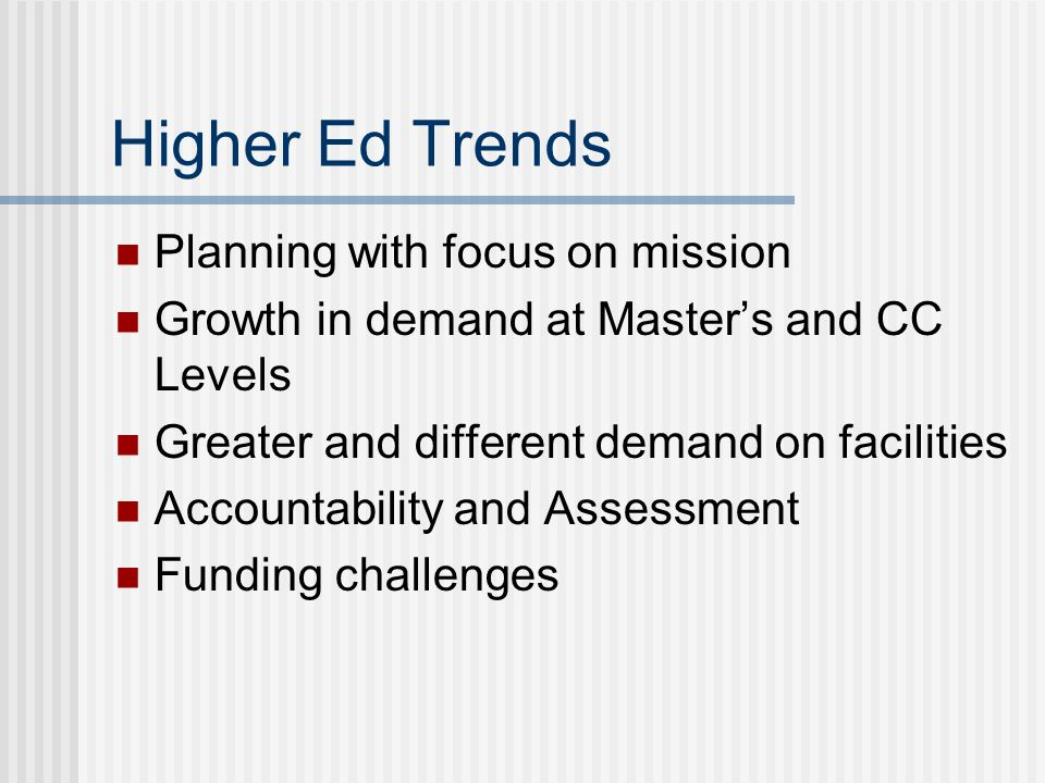 Strategic Plan Goals Goal 3: Assure high quality and diverse faculty and staff Strategies Improve faculty/staff services and information resources for management (36) Retain high quality and diverse faculty and staff.