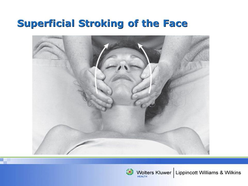 Superficial Stroking of the Face