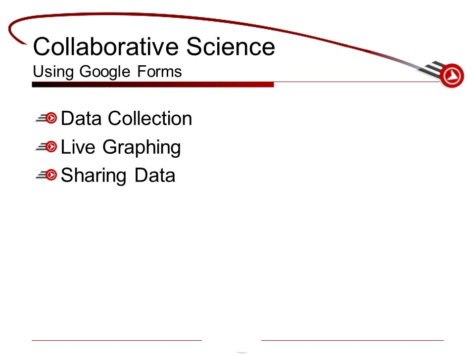 Collaborative Science Using Google Forms Data Collection Live Graphing Sharing Data
