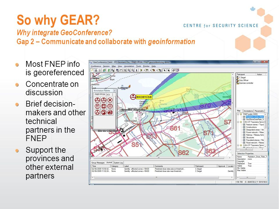 So why GEAR. Why integrate GeoConference.