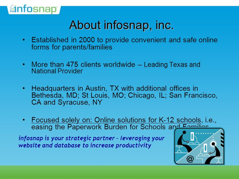 About infosnap, inc.