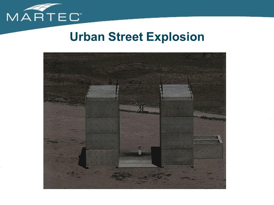 Urban Street Explosion