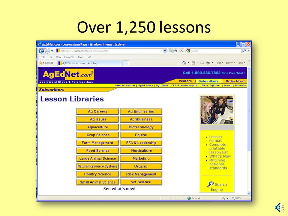 Its all included … Lessons with extras Daily news 24/7 access for all students and teachers at your school Updates at no charge
