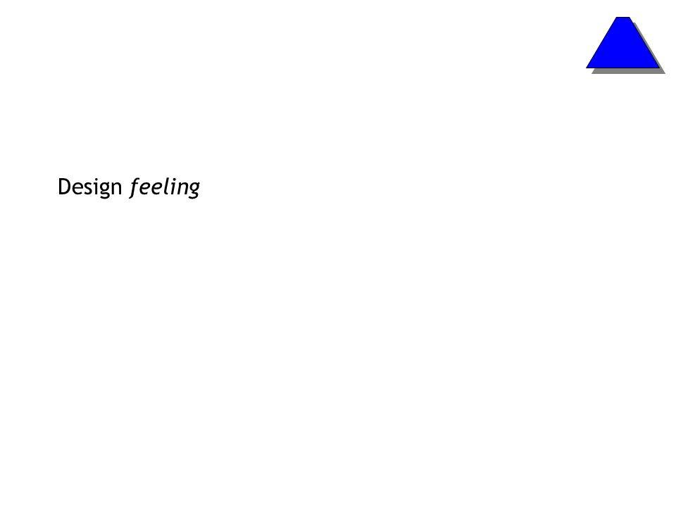 Design feeling