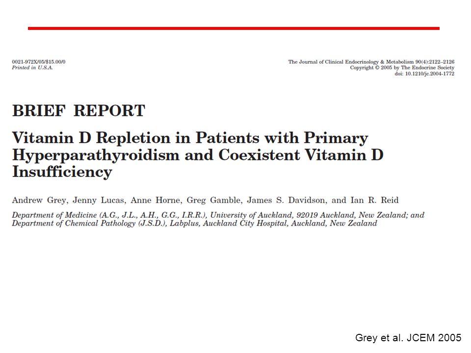 Grey et al. JCEM 2005