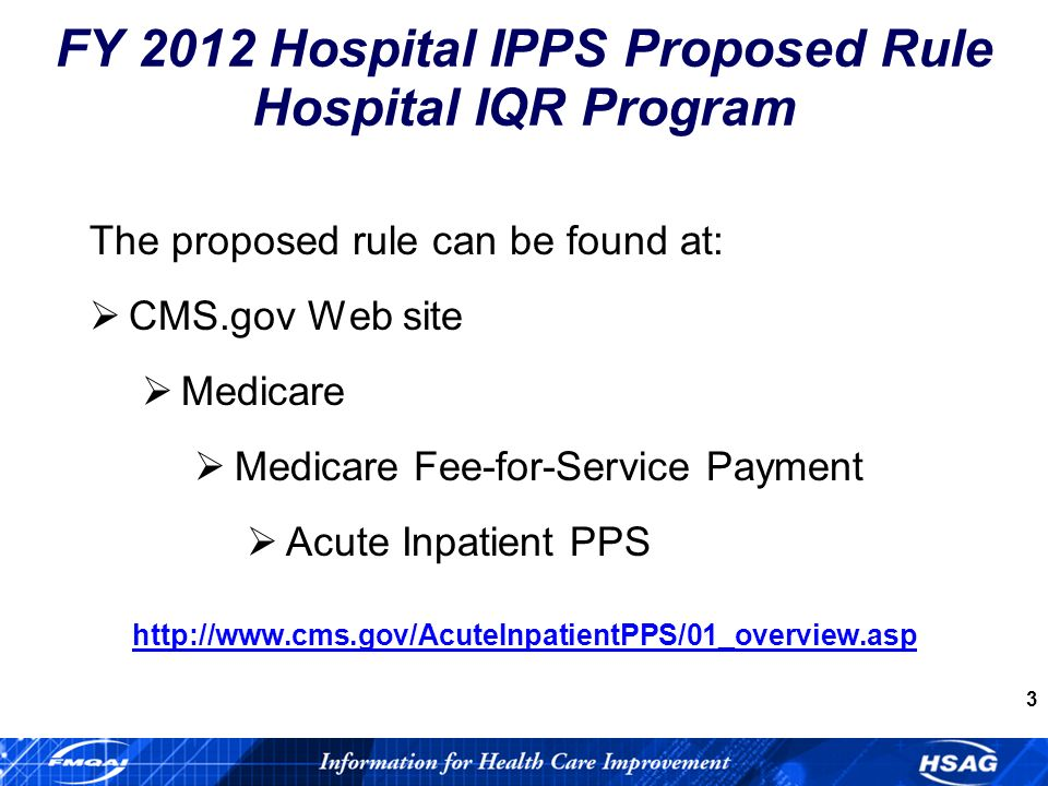 4 Hospital IQR Program Overview (Section A.1.a.) Description of the relationship between Hospital IQR program and Hospital VBP program.