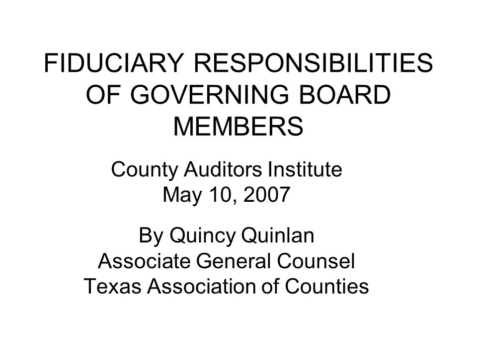 PFIA Requirements cont Investment officer with personal business relationship with business organization offering to engage in investment transaction with entity, or related to someone who wants to sell an investment to the entity must file statement with entity and Texas Ethics Commission Govt Code 2256.005(i)