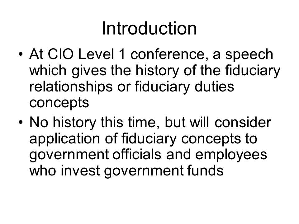 Is the PFIA a True Fiduciary standard.