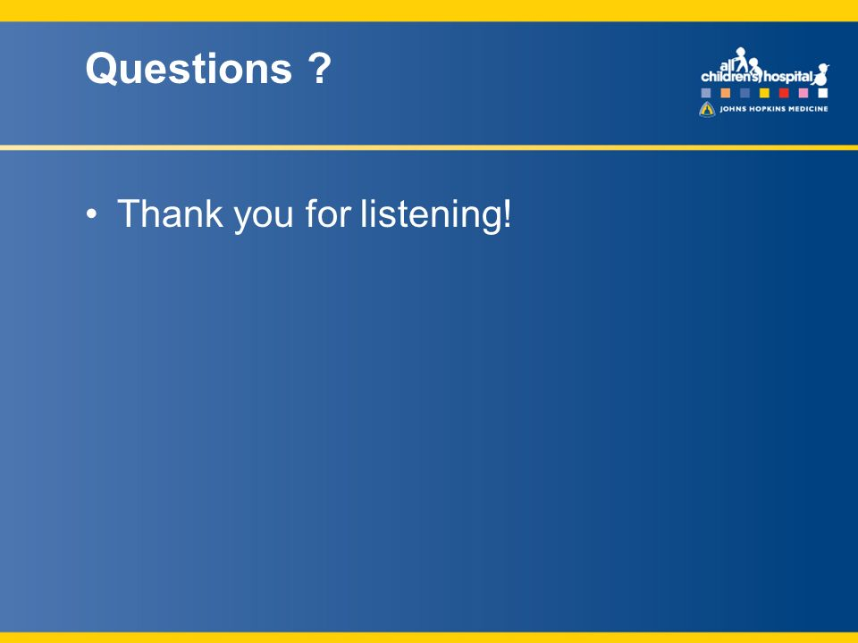 Questions Thank you for listening!