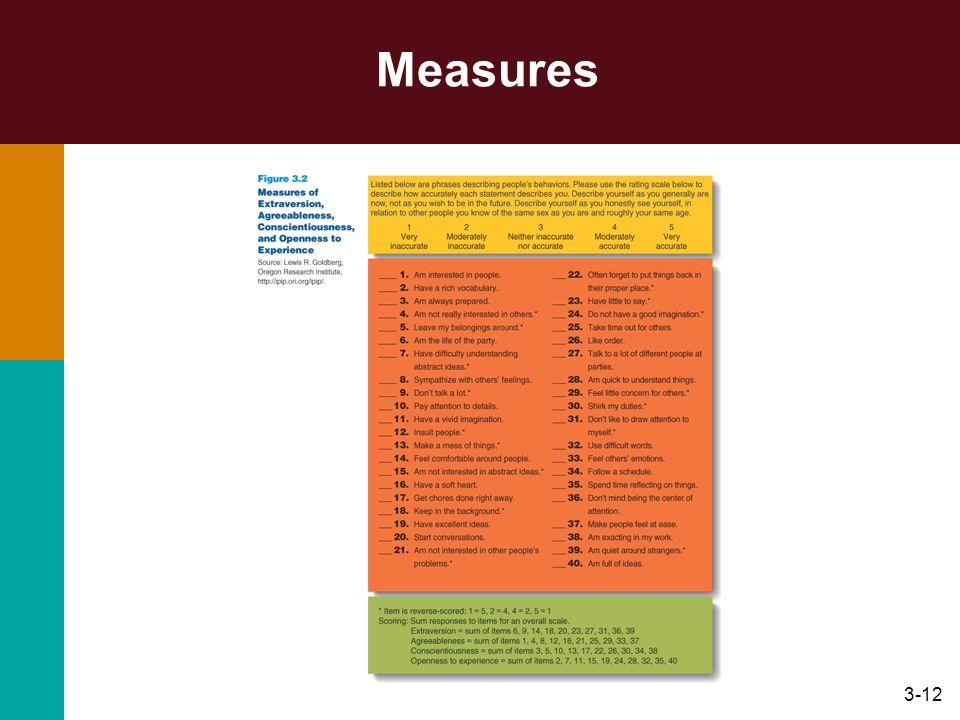 3-12 Measures