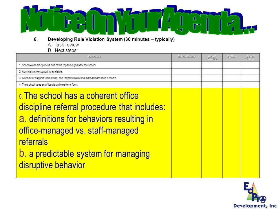 School Safety Data