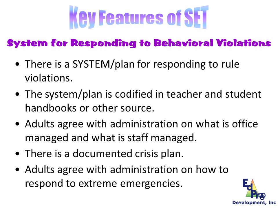 System for Rewarding/Acknowledging Behavioral Expectations There is a SYSTEM/plan for rewarding student BEHAVIOR.