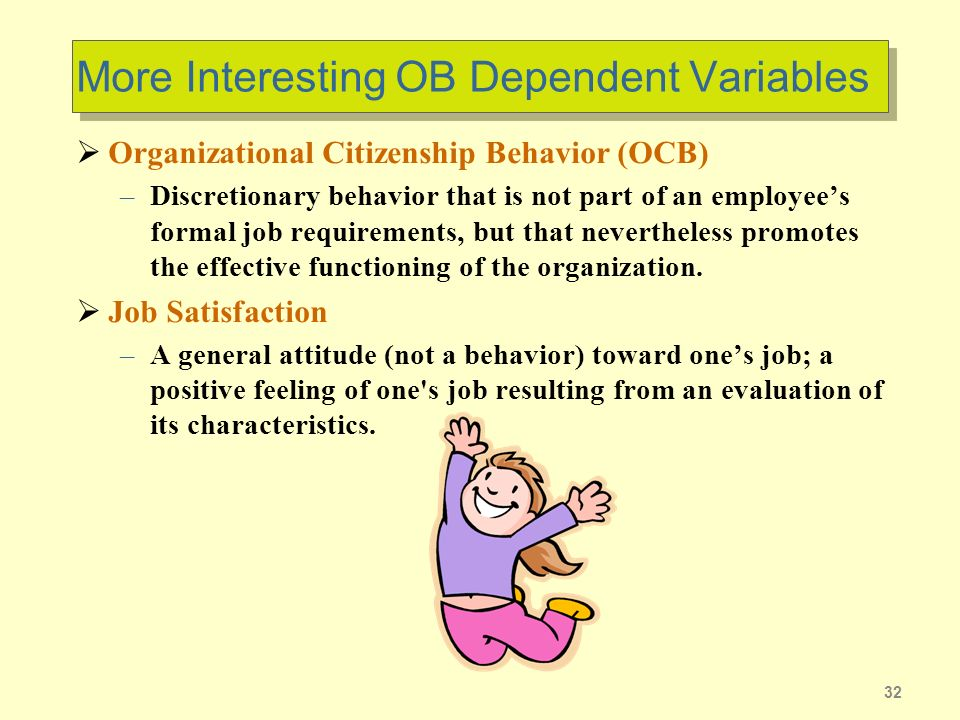 organizational citizenship behavior Organizational citizenship behavior although the origin of what is called organizational citizenship behavior, contextual performance, or prosocial organizational behavior can be traced back to classic management and organizational science treatises, serious theoretical and empirical research in the area did not begin until the late 1970s.
