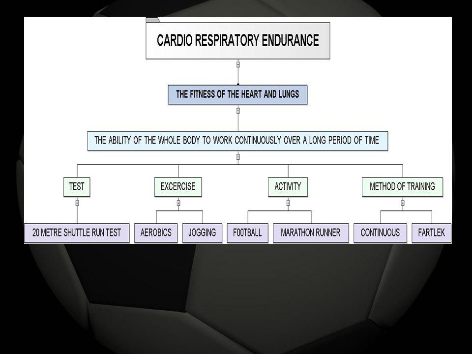 CARDIO RESPIRATORY ENDURANCE