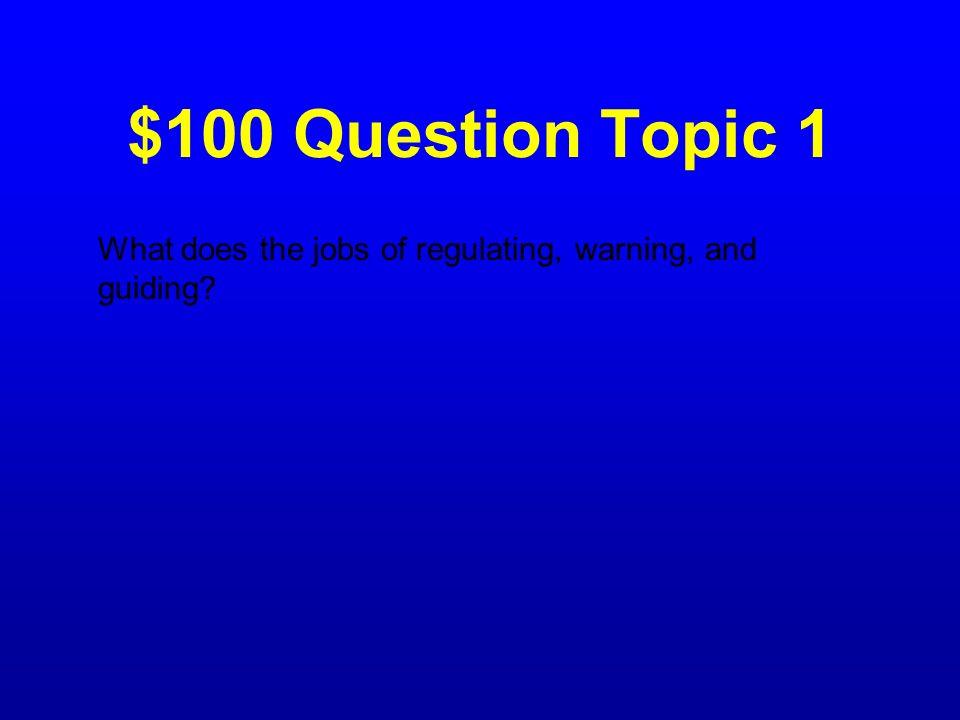 Jeopardy Topic 1Topic 2Topic 3Topic 4Topic 5Topic 6 100 200 300 400 500 100 200 300 400 500 100 200 300 400 500 100 200 300 400 500 100 200 300 400 50
