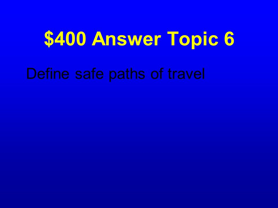 $400 Question Topic 6 What do raised roadway markers on the roadway and shoulder do?