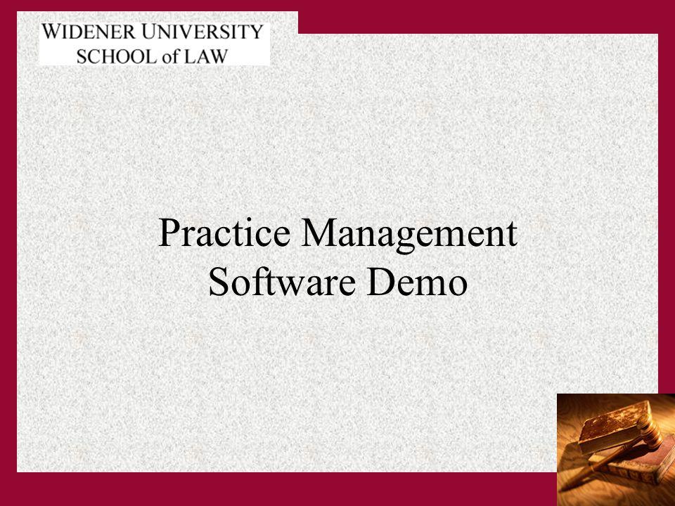 Practice Management Software Demo