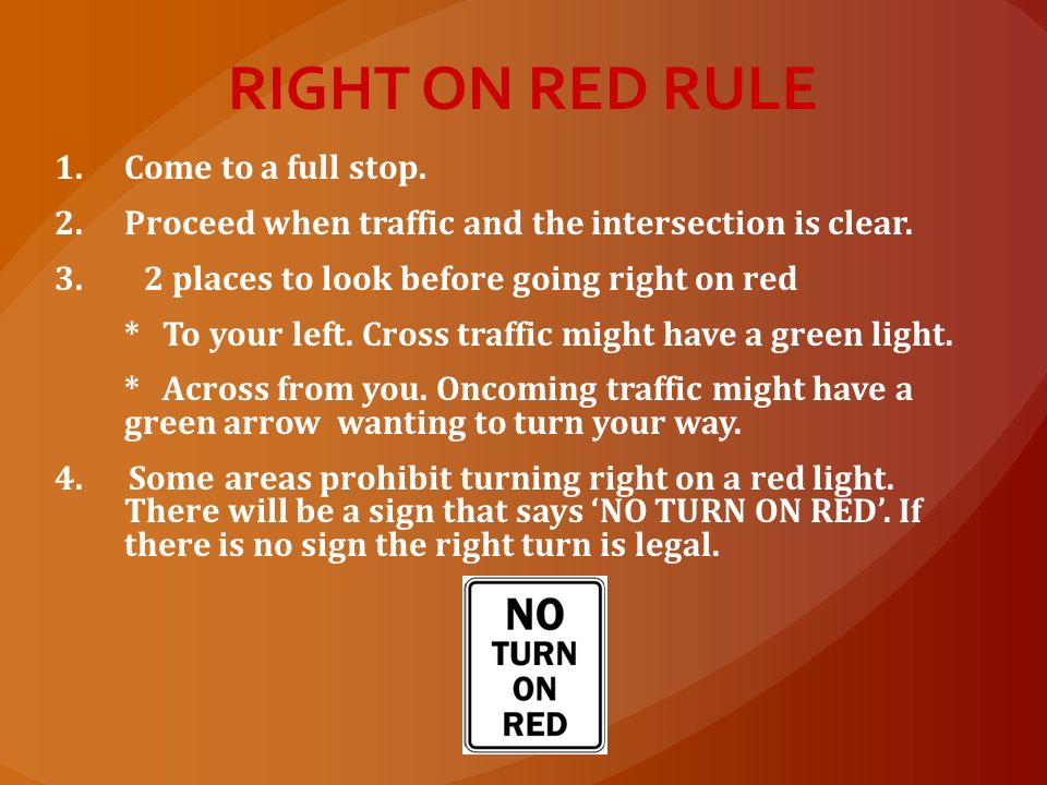 FLASHING YELLOW LIGHT Proceed with caution Bad intersections, school zones, construction zones Red X above your lane means your lane is not in use. Ye