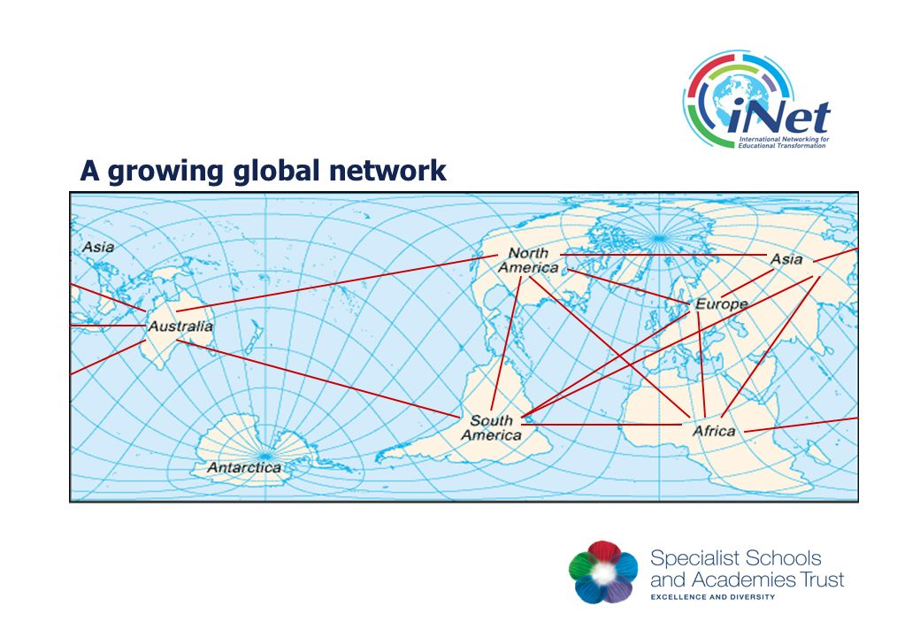 A growing global network