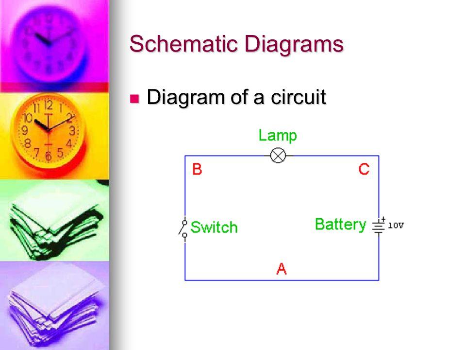 Schematic Diagrams Diagram of a circuit Diagram of a circuit