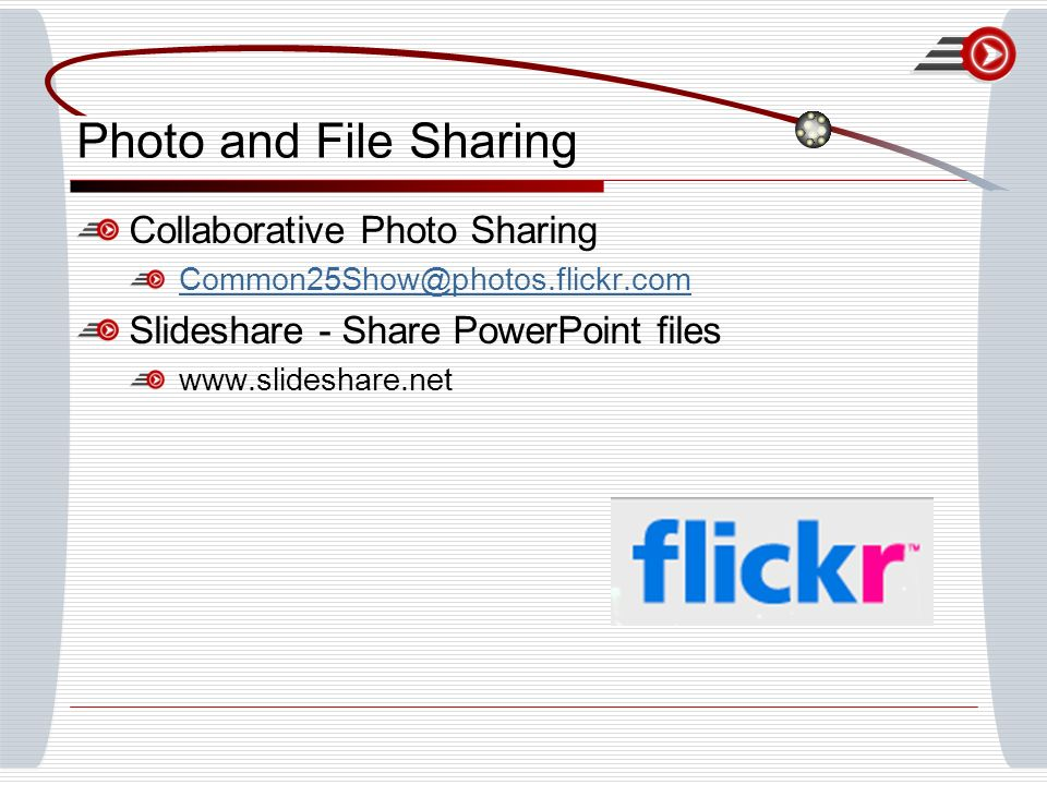 Photo and File Sharing Collaborative Photo Sharing Slideshare - Share PowerPoint files