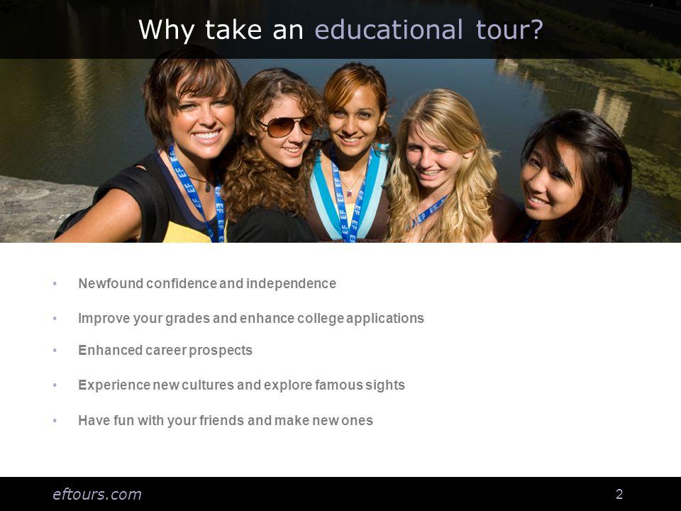 eftours.com 13 How do I enroll.