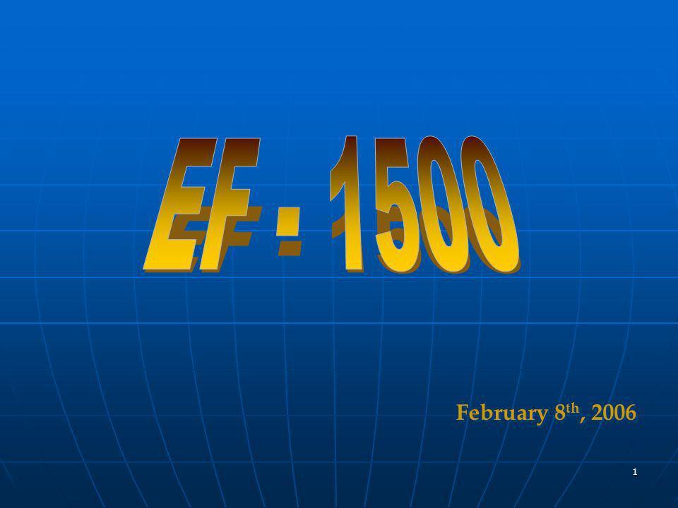 1 February 8 th, 2006 February 8 th, 2006