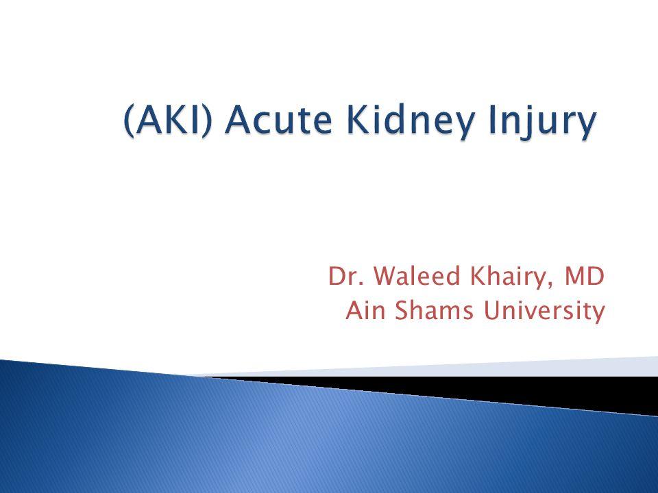 Dr. Waleed Khairy, MD Ain Shams University
