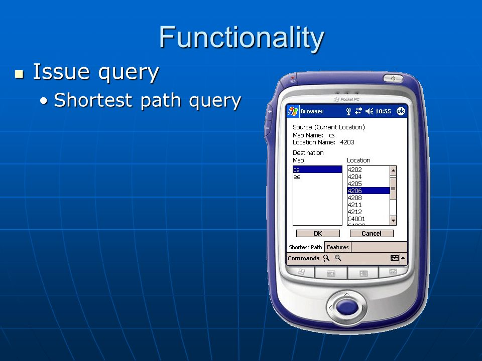 Functionality Issue query Issue query Shortest path queryShortest path query