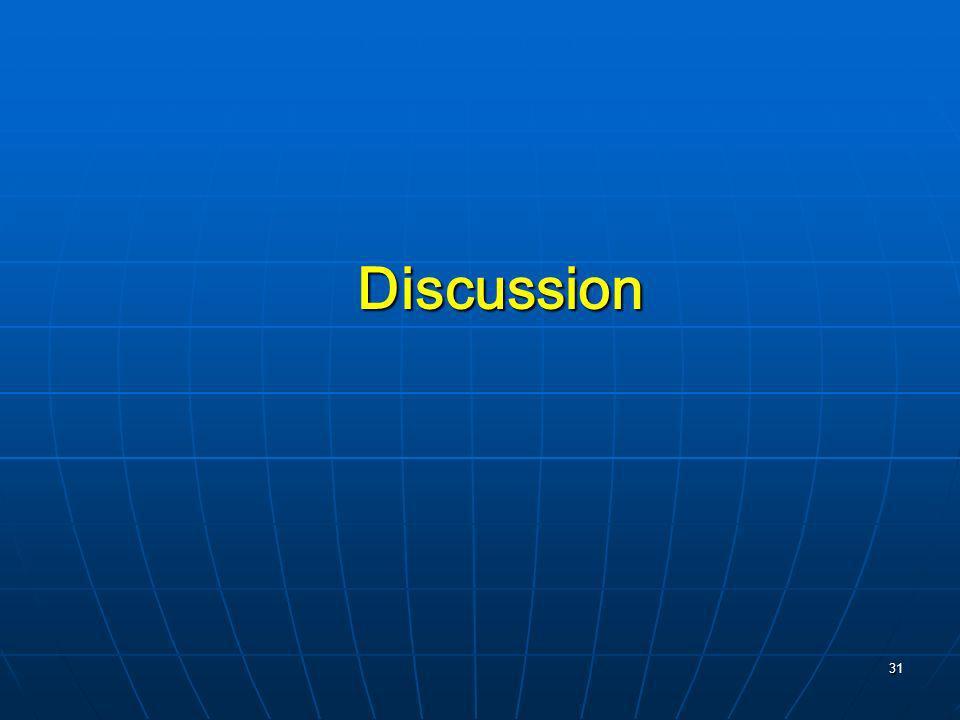 31 Discussion