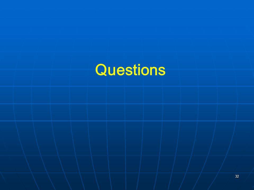 32 Questions