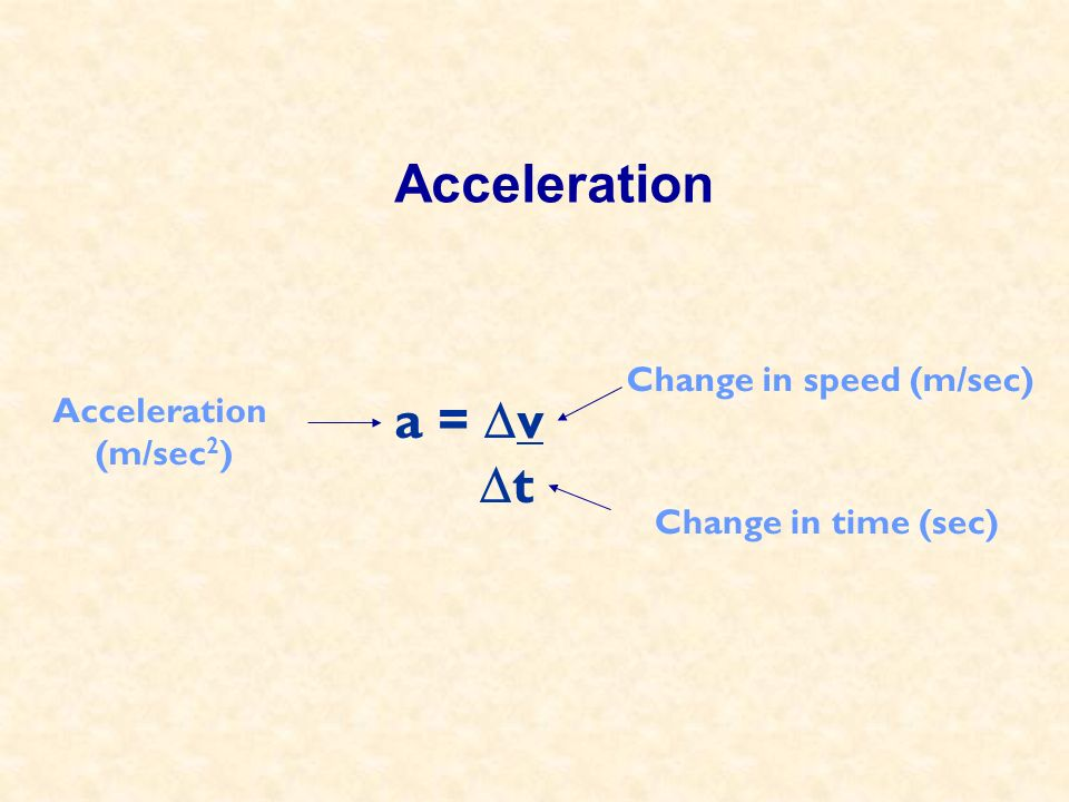 Calculate Acceleration A student conducts an acceleration experiment by coasting a bicycle down a steep hill.