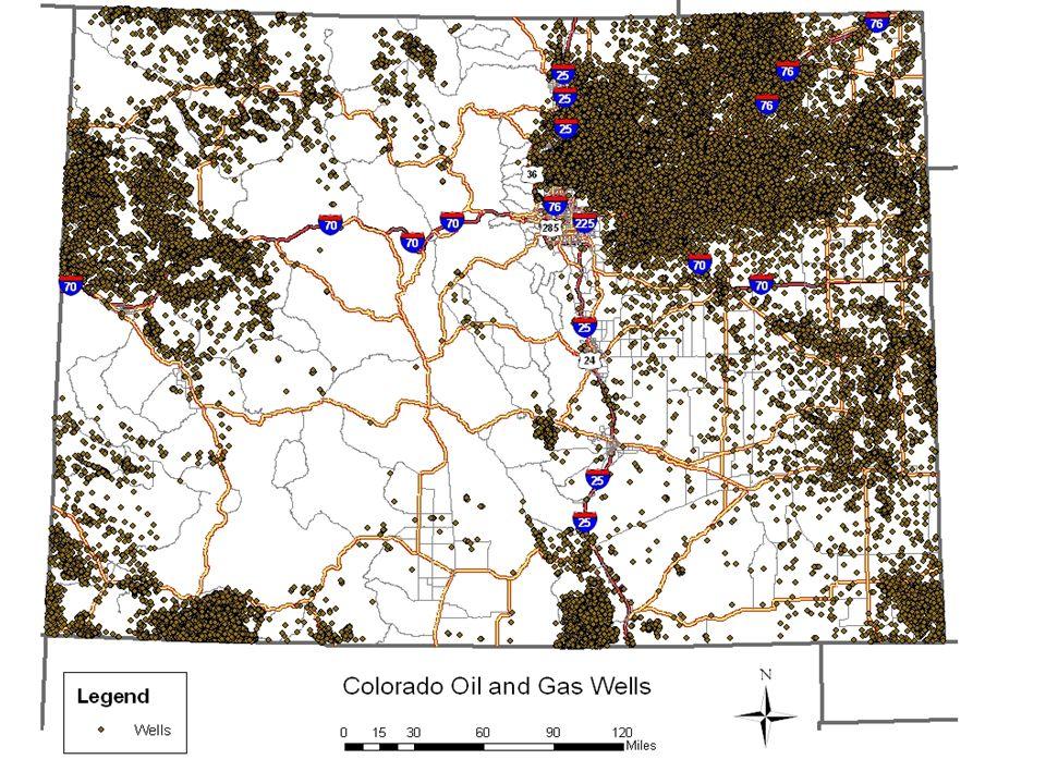 Oil & Gas Wells in Colorado
