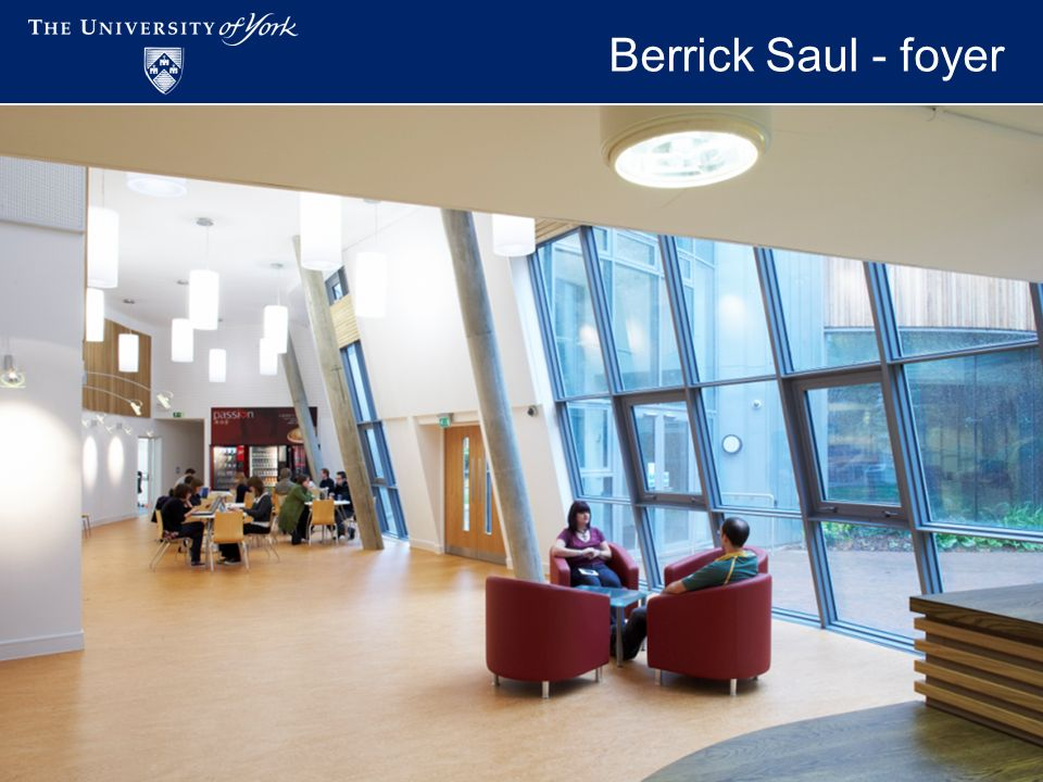 Academic Workspaces - November 2009 Berrick Saul - foyer