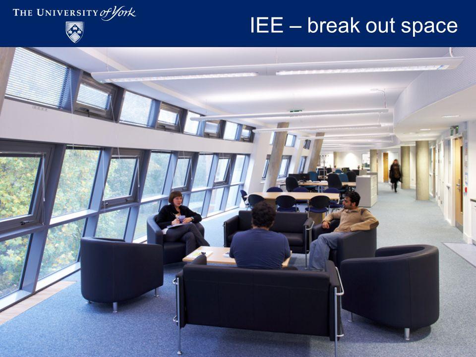 Academic Workspaces - November 2009 IEE – break out space