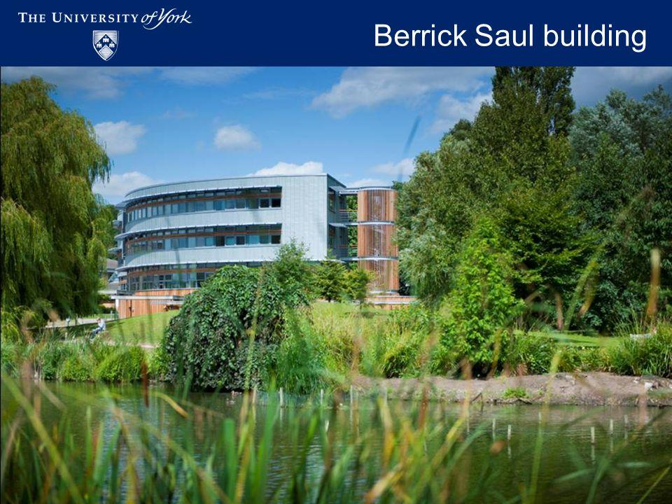 Academic Workspaces - November 2009 Berrick Saul building