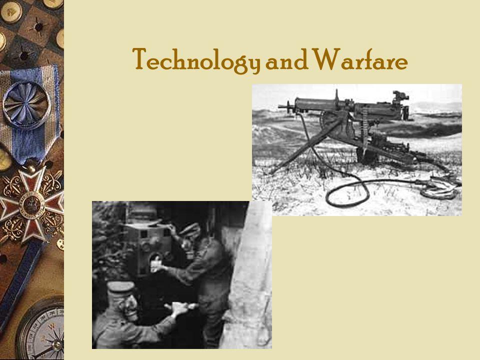 Technology and Warfare