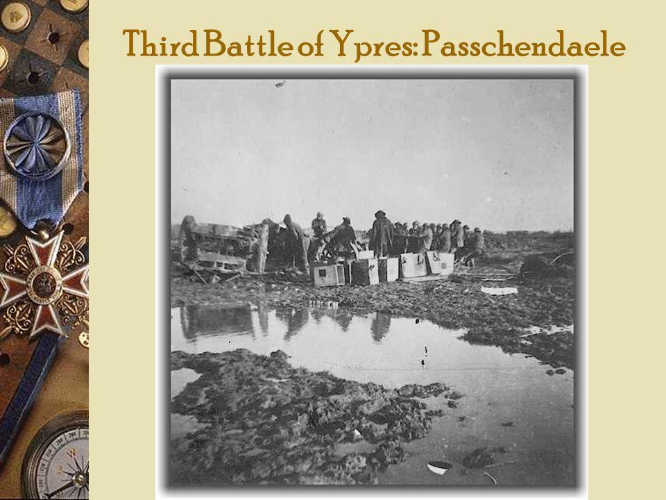 Third Battle of Ypres: Passchendaele