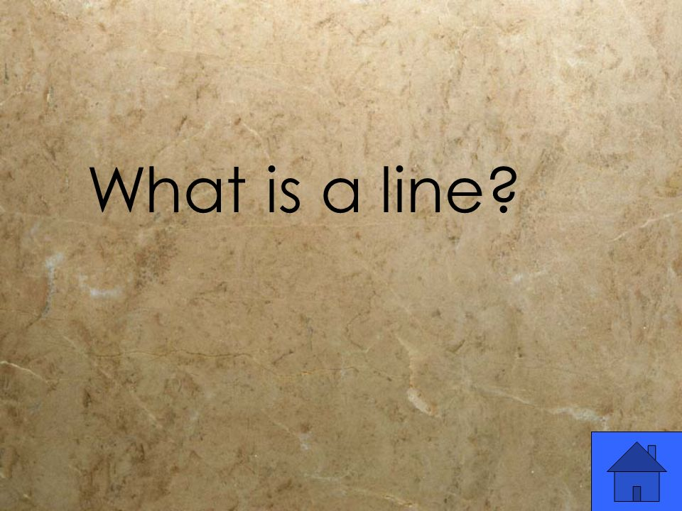What is a line