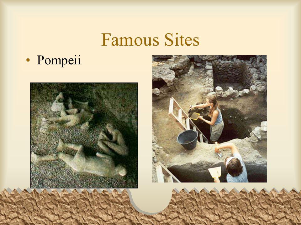 Famous Sites Pompeii