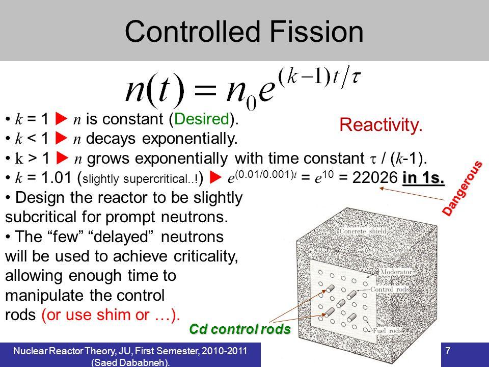 7 k = 1 n is constant (Desired). k < 1 n decays exponentially. k > 1 n grows exponentially with time constant / ( k -1). in 1s. k = 1.01 ( slightly su