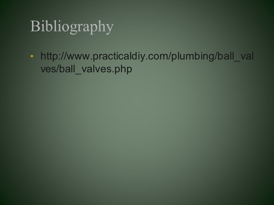 Bibliography   ves/ball_valves.php