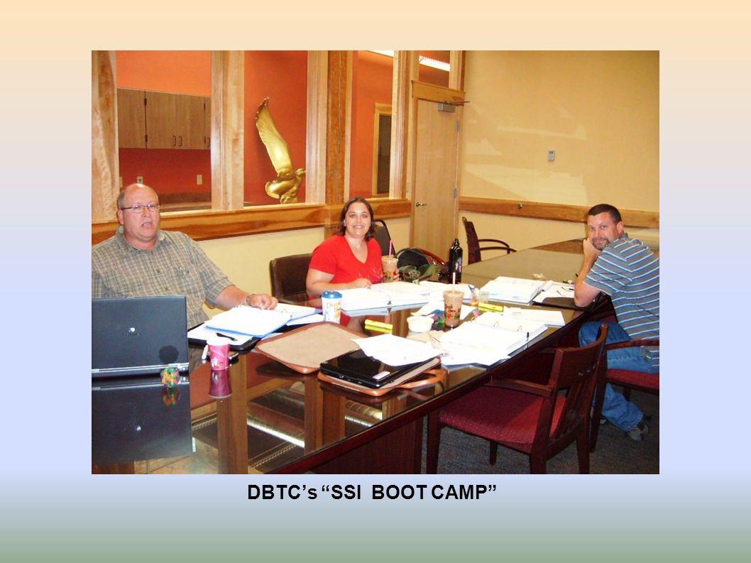 DBTCs SSI BOOT CAMP