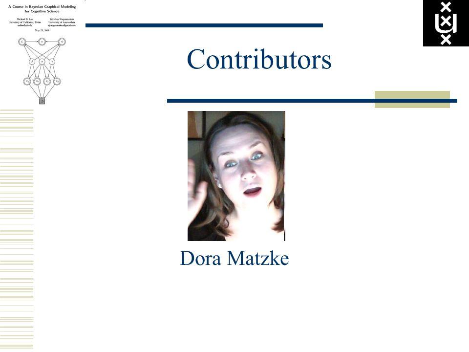 Contributors Dora Matzke