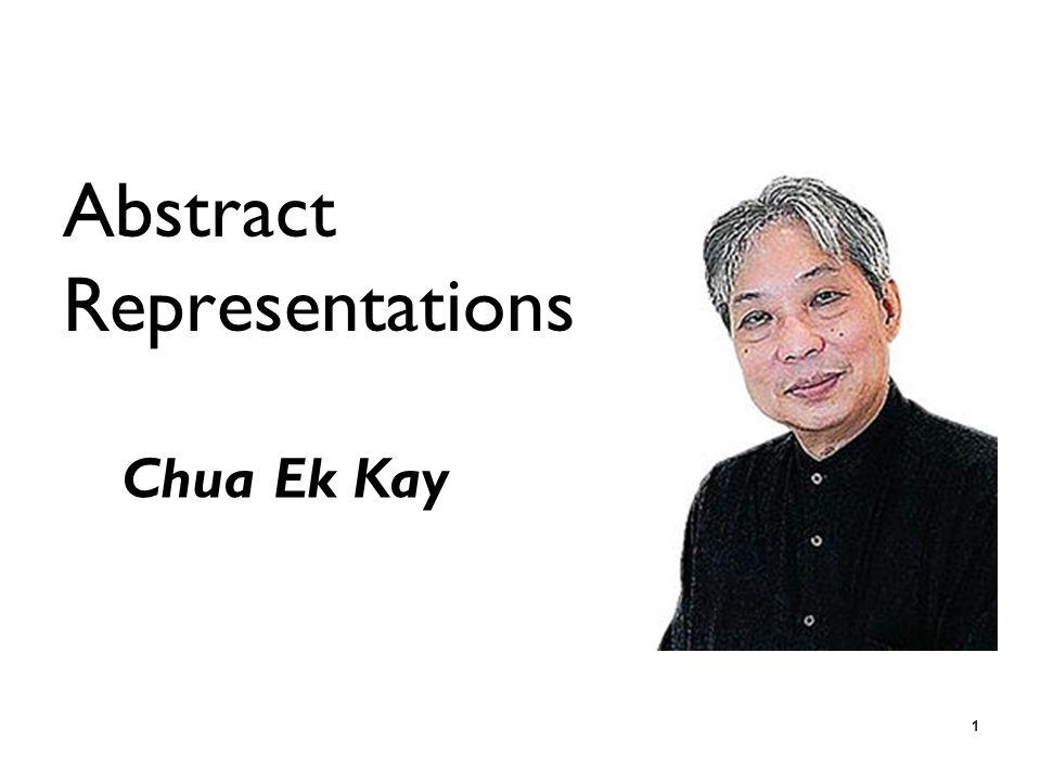 1 Abstract Representations Chua Ek Kay
