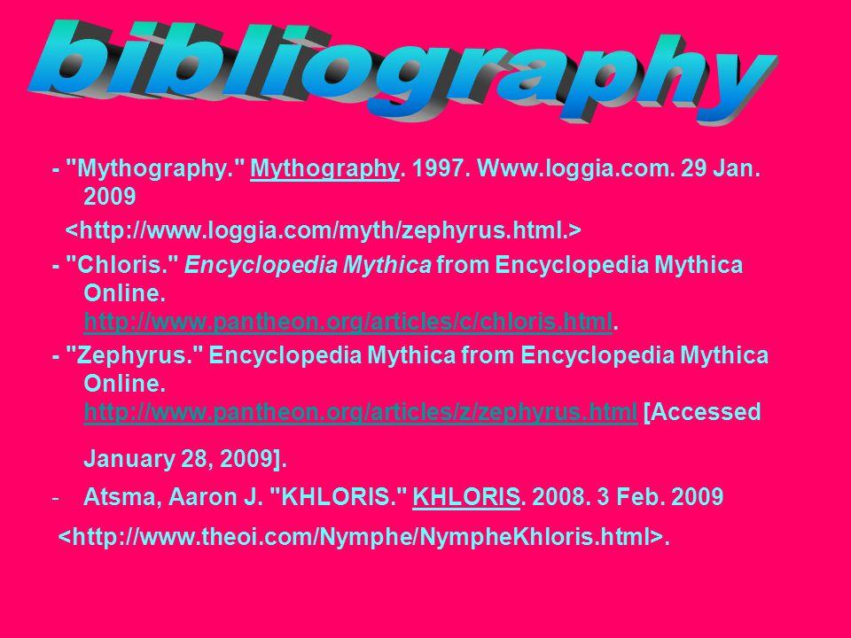 - Mythography. Mythography. 1997. Www.loggia.com.