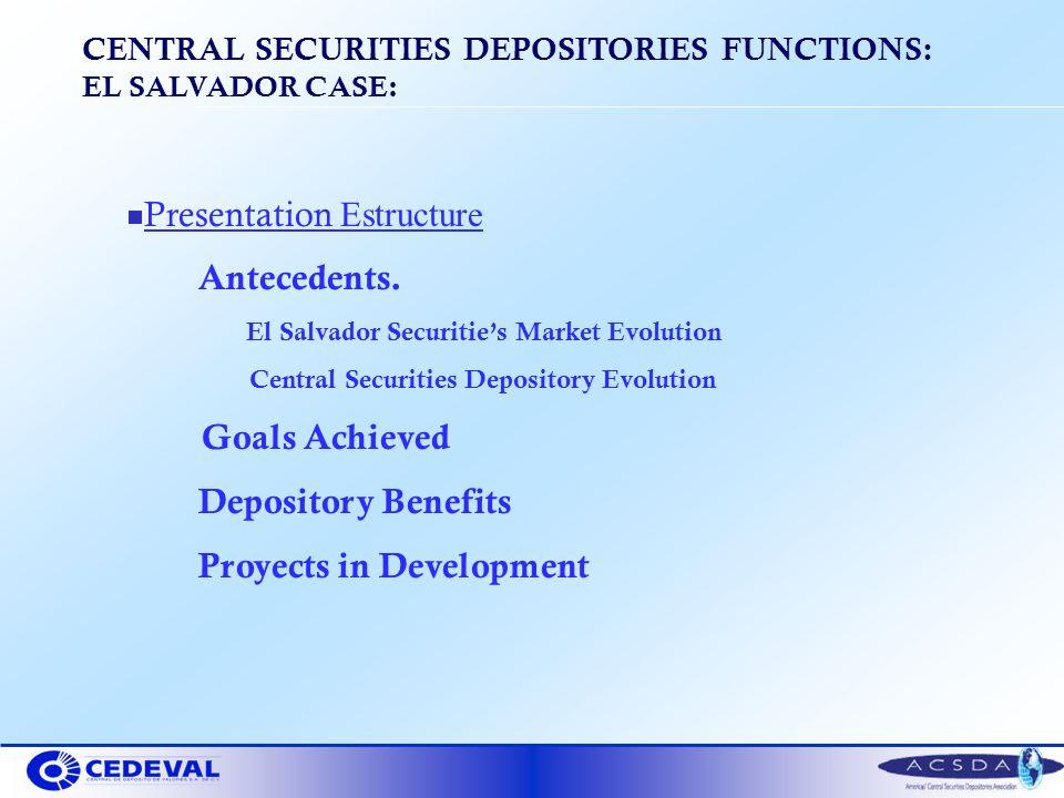 Presentation Estructure Antecedents.
