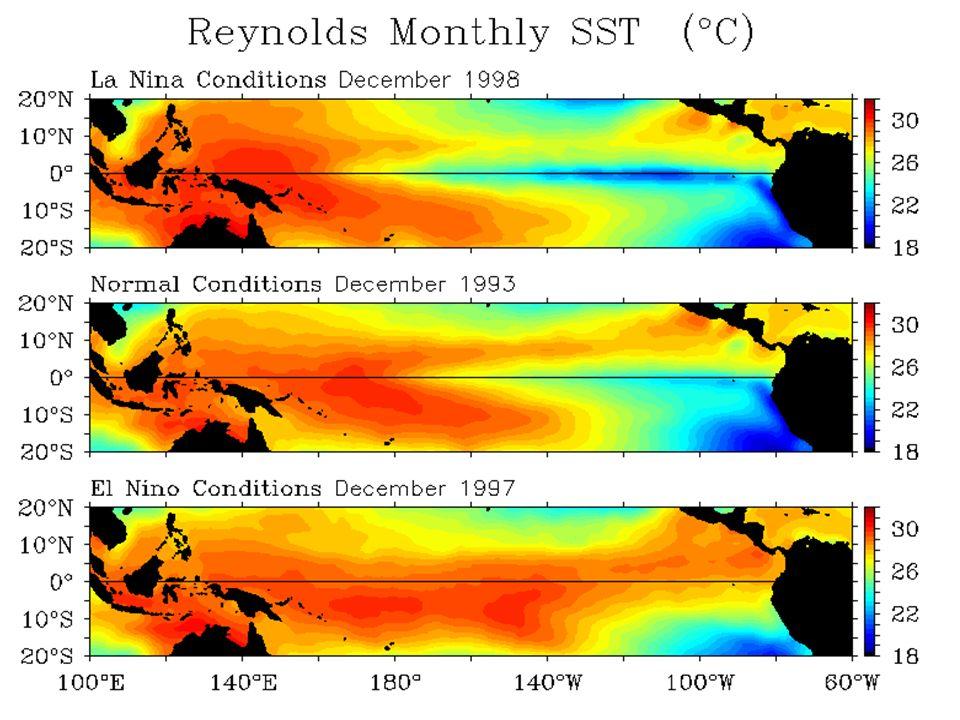 NOAA / PMEL / TAO Project Office / El Niño Theme PageNOAAPMELTAO Project OfficeEl Niño Theme Page What are La Niña, El Niño and Normal Conditions in t